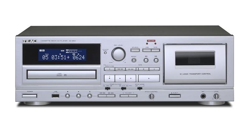 カセットテープ デッキ TEAC 『 AD-850 』